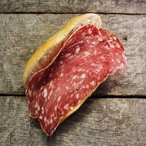 Ardenne rauw ham Belegde Broodje